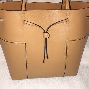 Tory Burch block drawstring handbag